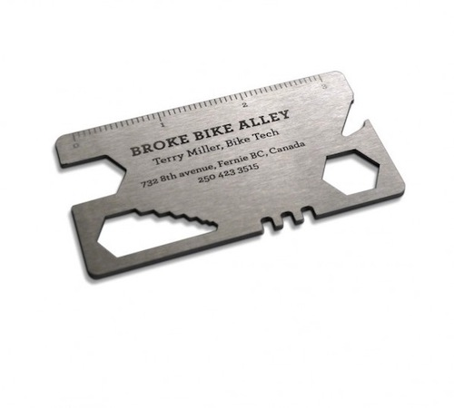 11. Broke Bike Alley Card Tool by Rethink Canada