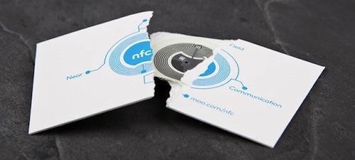 12. NFC Card by MOO